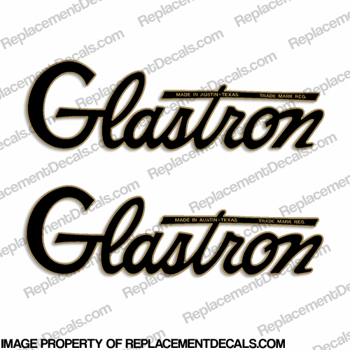 Glastron Boat Decals - 1964 (Set of 2) - 2-Color
