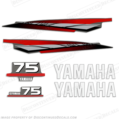 yamaha 75hp 2 stroke decal kit