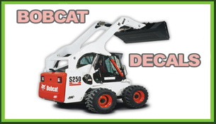 Bobcat Decals