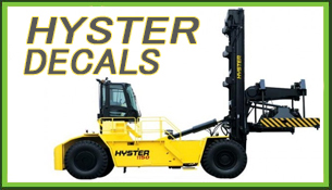 Hyster Decals