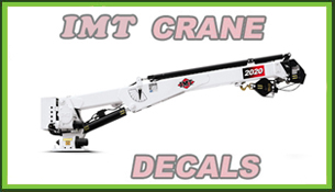 IMT Crane Decals
