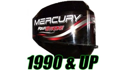 Mercury Decals (1990 - Present)
