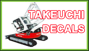Takeuchi Decals