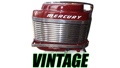 Vintage Mercury Decals (1930 - 1990)