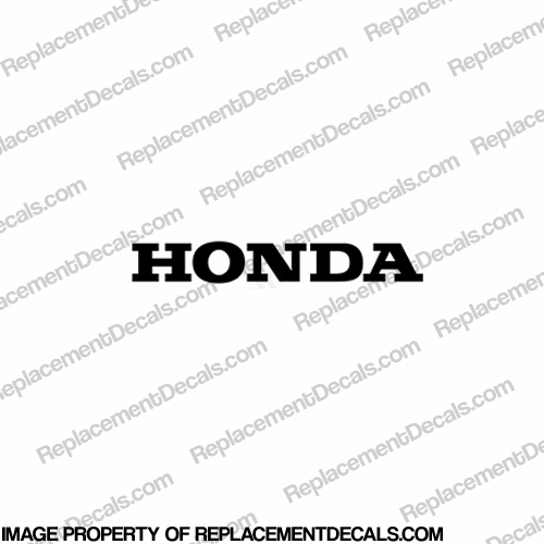 "600RR Front ""HONDA"" Decal - Any Color"