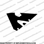 600RR Left Upper Fairing Decal