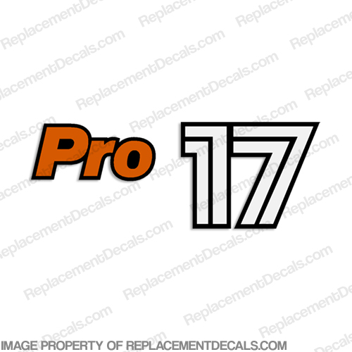 Bass Tracker Pro 17 Decal