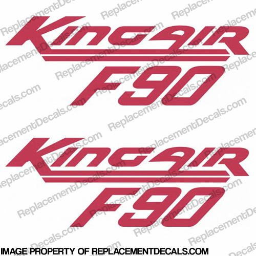 Beechcraft King Air F90 (Set of 2) - Any Color!
