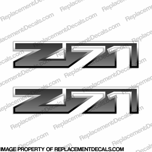 Chevy Avalanch Z71 Decals (Set of 2) - Stock