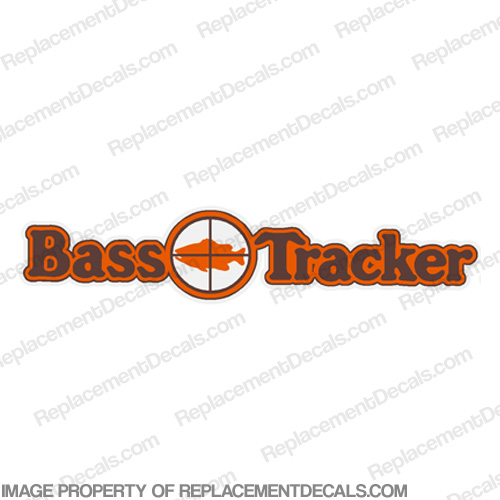 Bass Tracker Target Boat Decal - 1970s 70, 70s