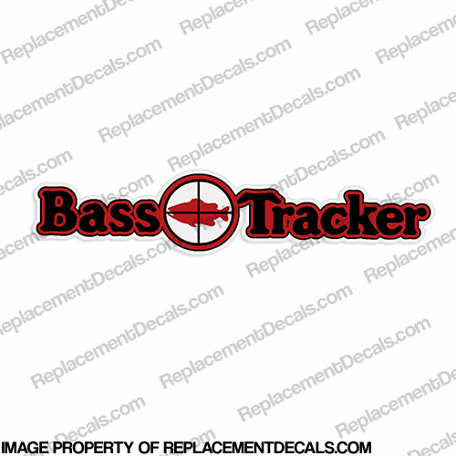 Bass Tracker Target Boat Decal