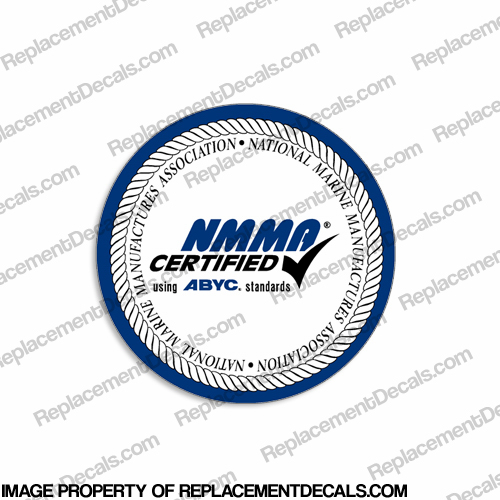 Boat NMMA Certified Boat Decal