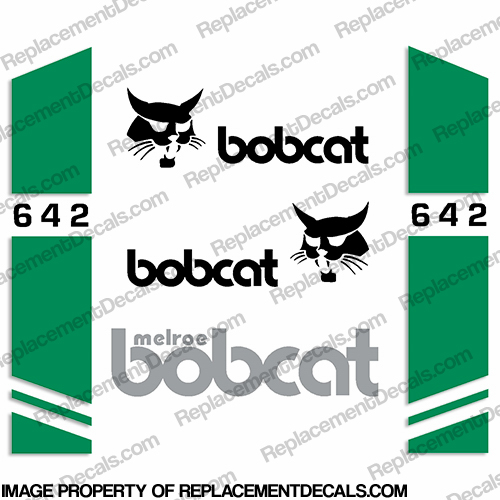 Bobcat 642 Skid Steer Decal Kit
