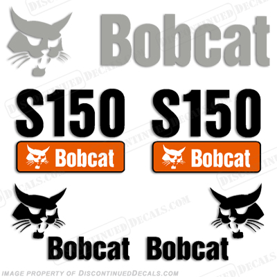 Bobcat S150 Decal Kit