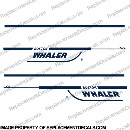 Boston Whaler 21&#39 Walk-Around Decal Kit