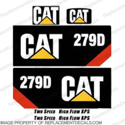 Caterpillar 279D Decal Kit