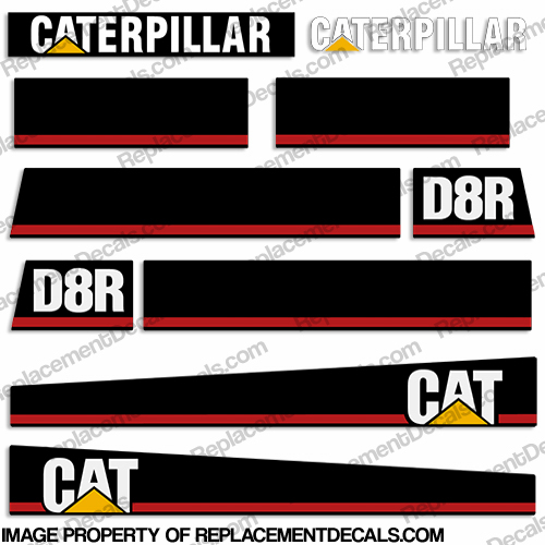 Caterpillar Decal Kits : Caterpillar loader d r decal kit