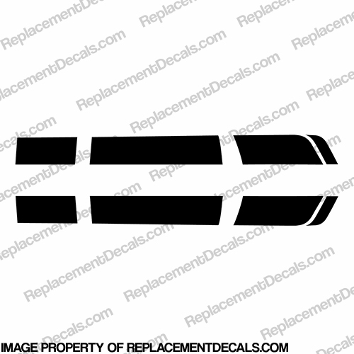 Chevy Camaro Racing Stripe Decal Kit - Any Color!
