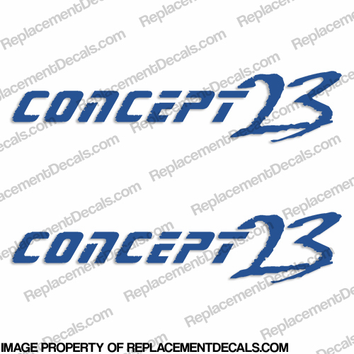 Concept 23 Logo Decals (Set of 2)
