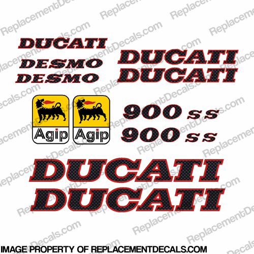 Ducati 900ss Decal Kit 1991