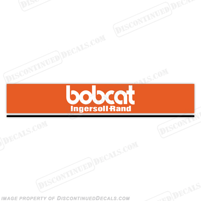 Bobcat 331 Rear Door Decal