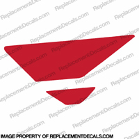 F4i Left Tank Wing Decal (Red)