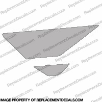 F4i Left Tank Wing Decal (silver)