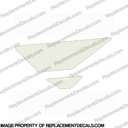 F4i Left Tank Wing Decal (White)