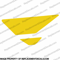 F4i Left Tank Wing Decal (Yellow)