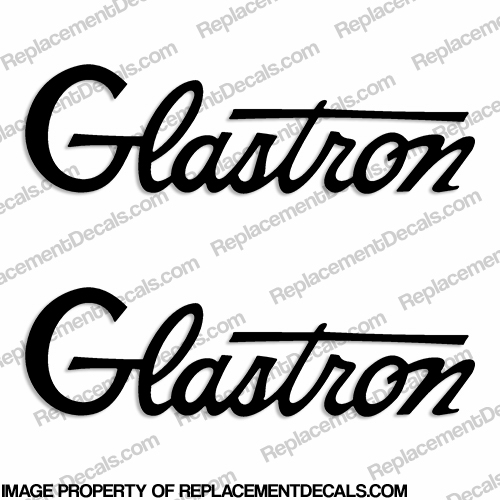 Glastron Boat Decals - 1964 (Set of 2)