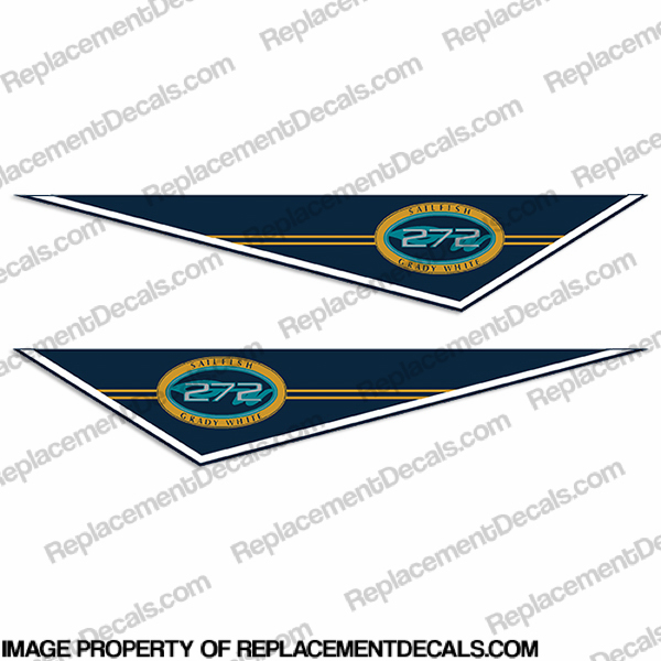 Grady White 272 Sailfish Pendant Decals