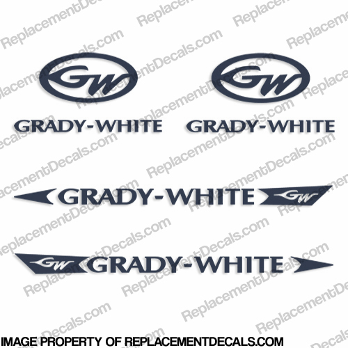 Grady-White Decal Kit - Any Color!