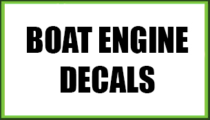 Boat Engine Decals