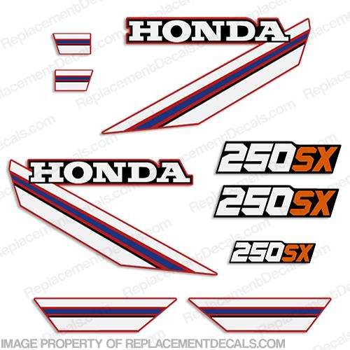 Honda 1985 Atc 250sx Decal Kit