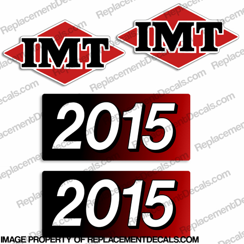 IMT Truck Crane 2015 Decal Kit