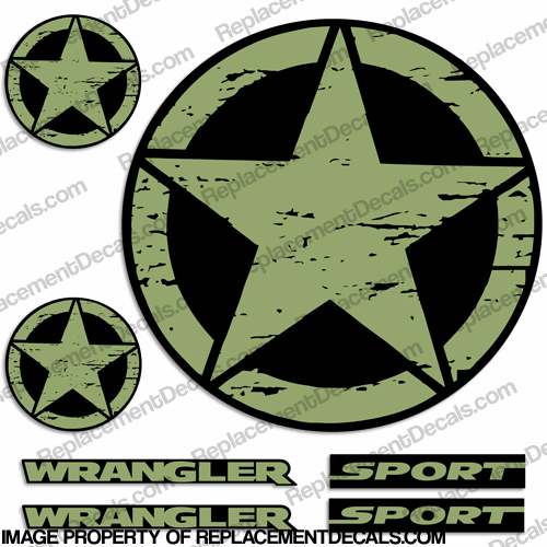 Army Star Vector Army Distressed Star Decal