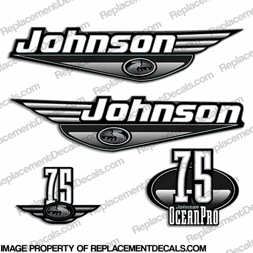 johnson evinrude outboard motor decals