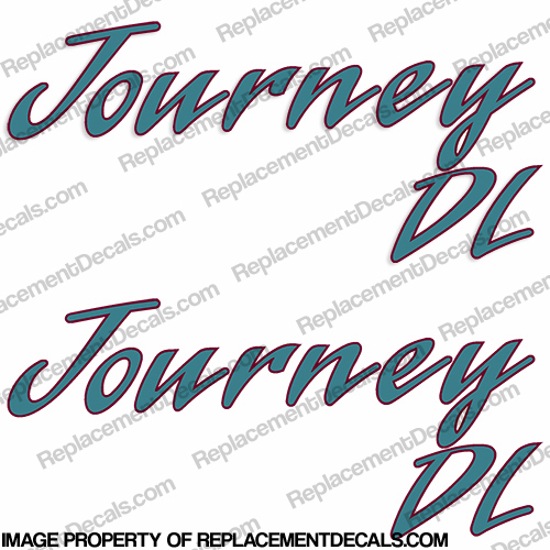 Journey DL RV Decals (Set of 2) - 2 Color