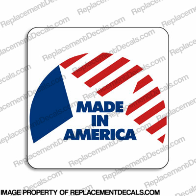Made in America Decal