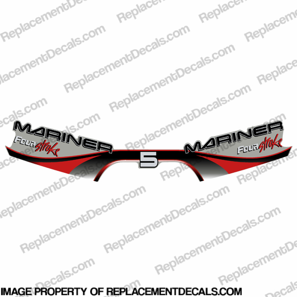 Mariner 5p Four Stroke Decal Kit 1999 - 2000