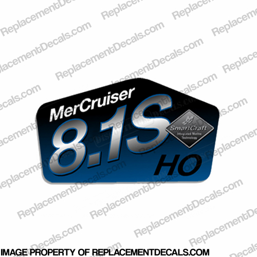 Mercruiser 8.1S HO Decal