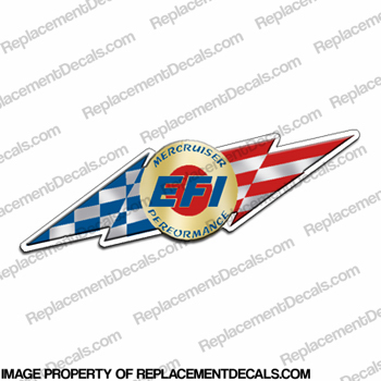 Mercruiser EFI Performance Decal