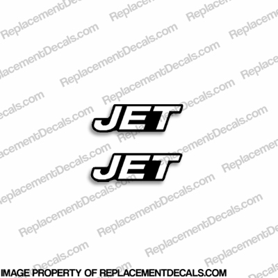"Mercury ""JET"" Decal (Set of 2)"