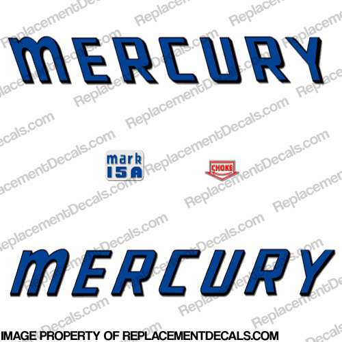 Mercury 1959 Mark 15A Decals