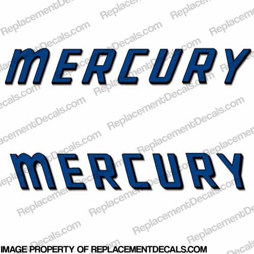 Mercury 1959 Mark 55A Decals
