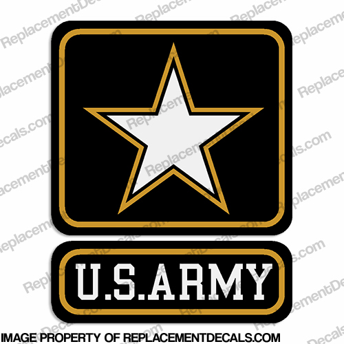 Military Decal - U.S. Army Decal