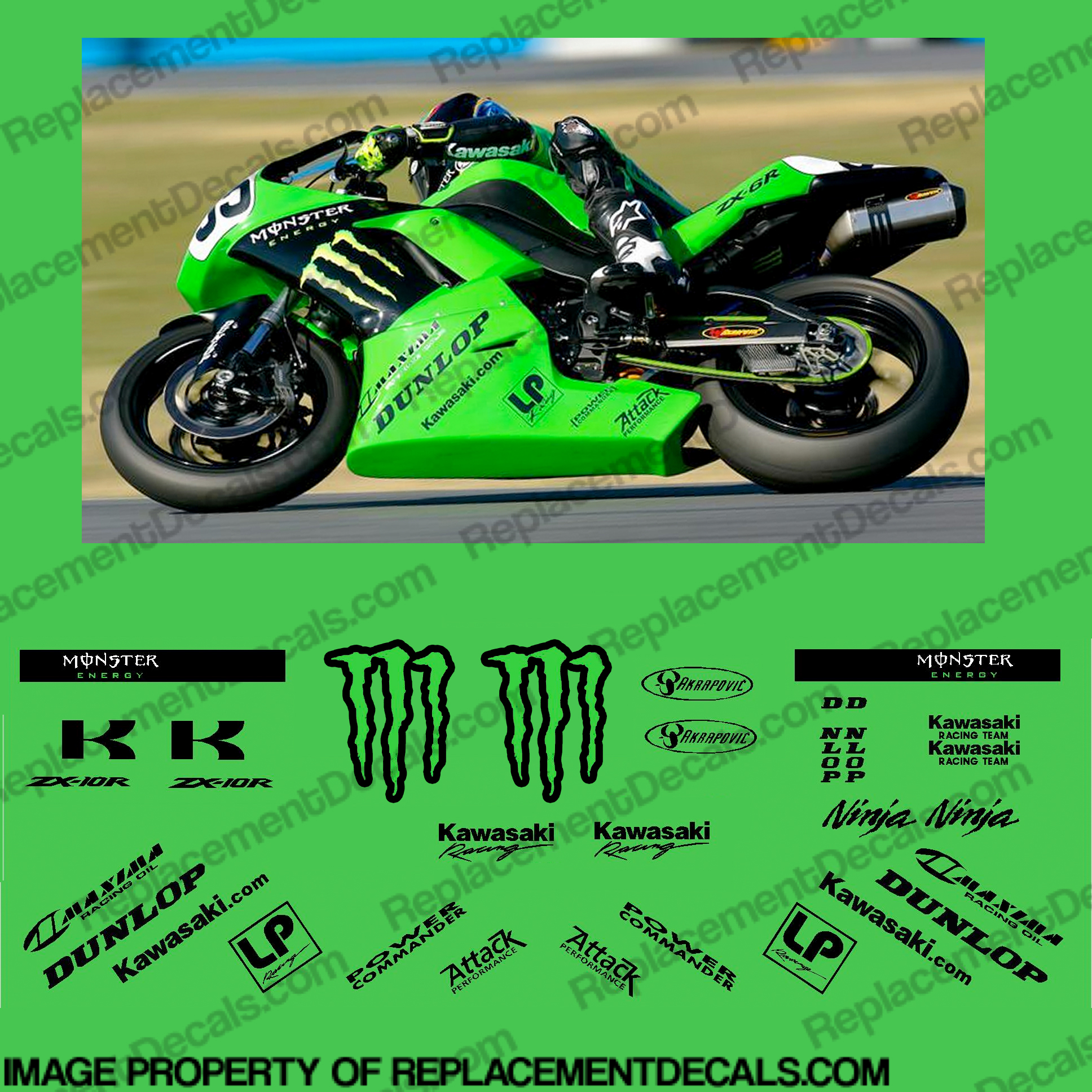 Kawasaki Ninja Graphics Kit