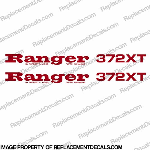 Ranger 372XT Decals (Set of 2) - Any Color!