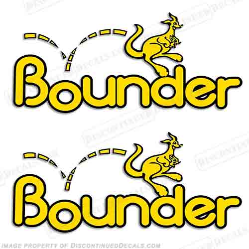 Bounder RV Decals (Set of 2)