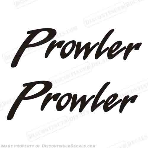 Fleetwood Prowler Logo RV Decals (Set of 2) - Any Color!